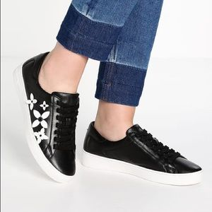 f586ea6024ac0 MICHAEL Michael Kors Shoes - Michael Kors Lola Flower Leather Fashion  Sneakers